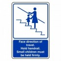 Escalator signs