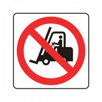 No forklift trucks