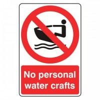 No personal watercrafts