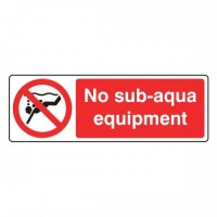 No sub Aqua-equipment