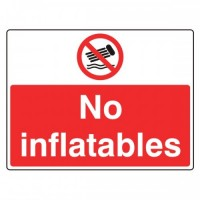 No inflatables