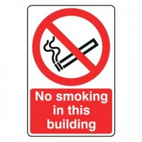 No smoking in this building