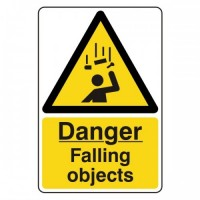 Danger falling objects