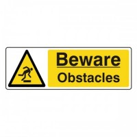 Beware obstacles