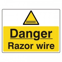 Danger Razor Wire