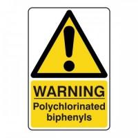 Warning polychlorinated biphenyls