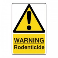 Warning rodenticides