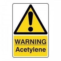 Warning acetylene