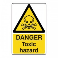 Danger toxic hazard