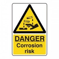 Danger Corrosion risk
