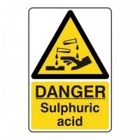 Danger Sulphuric Acid