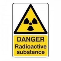 Danger Radioactive substance