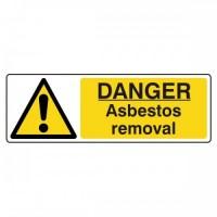 Danger asbestos removal