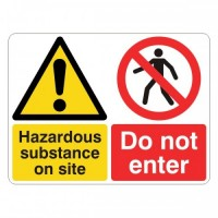 Hazardous substance on site