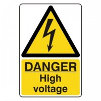 Danger high-voltage