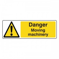 Danger Moving machinery
