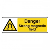 Danger Strong magnetic field