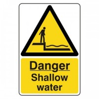 Danger shallow water