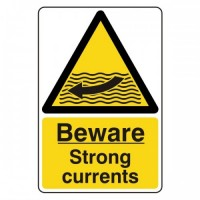 Beware strong currents