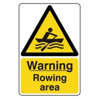 Warning Rowing area
