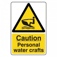 Caution Personal watercrafts