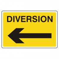 Diversion (arrow left)