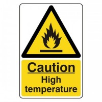 Caution Hot temperature