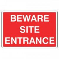 Beware Site Entrance
