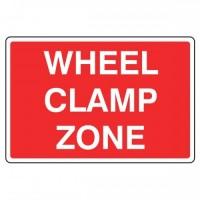 Wheel clamp zone