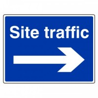 Site traffic arrow right