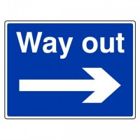 Way out (arrow right)