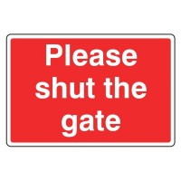 Please Shut the Gate