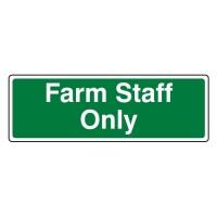 Farm Staff only