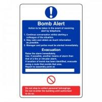 Bomb Alert action