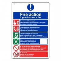 Fire action Multi lingual