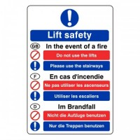 Fire Action (Lift safety)