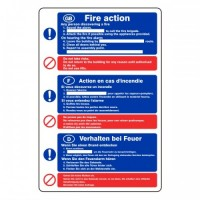 Fire Action (with information writing points)