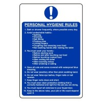 Personal Hygiene Rules