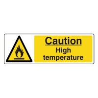 Caution High temperature