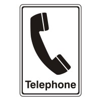 Telephone with Logo