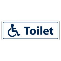 Toilet (with disability logo)