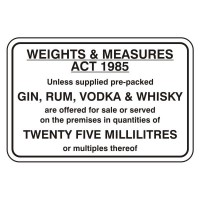 Weights and measures act 1985