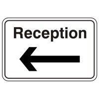 Reception (arrow left)