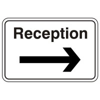 Reception (arrow right)