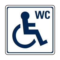 WC with disability logo