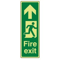 Fire exit Arrow up