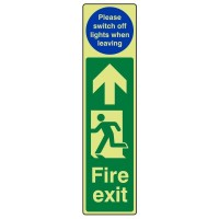 Fire exit (Please switch off lights when leaving)