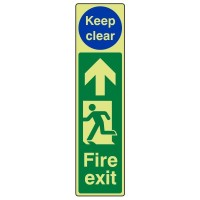 Fire exit (keep clear)