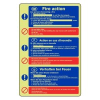 Fire action 13