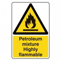 Petroleum mixture Highly flammable